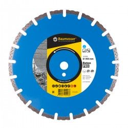 TARCZA DIAMENTOWA 1A1RSS/C1-H 350x3,5/2,5x10x25,4-21 F4 Baumesser Beton PRO